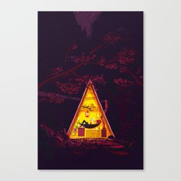 The Hideout – Night Version Canvas Print