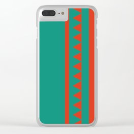 Indian Designs 157 Clear iPhone Case
