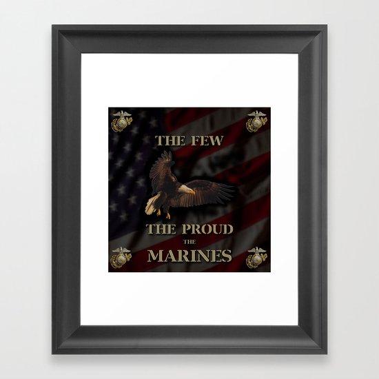 The Few The Proud Framed Art Print