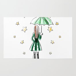 Star Showers Rug