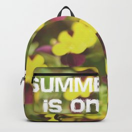 Summer is on Backpack