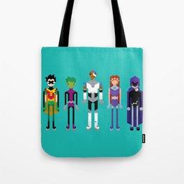 Teenage Superheroes Tote Bag