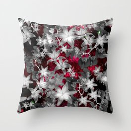 Orchid Galaxy Throw Pillow