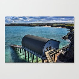 Padstow Lifeboat Station Canvas Print