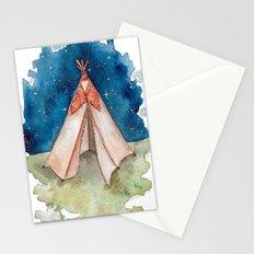 Tiny Teepee Stationery Cards