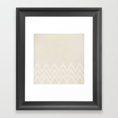 LINEN Framed Art Print