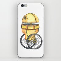 robot iPhone & iPod Skins featuring Robot by Michelle Krasny