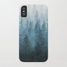 My Misty Secret Forest iPhone X Slim Case