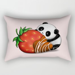Pandaberry Rectangular Pillow