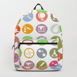 Science - Study Icons Backpack