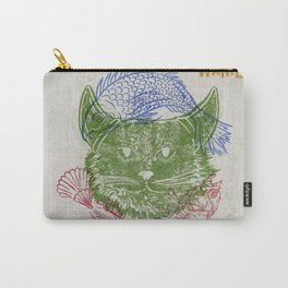 Evil Cat & Fish Carry-All Pouch