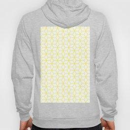 Geometric Hive Mind Pattern - Yellow #193 Hoody