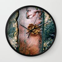 conan Wall Clocks featuring La Gran Sabana by David Hernández-Palmar