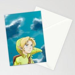 The legend of Zelda - Link kid Stationery Cards