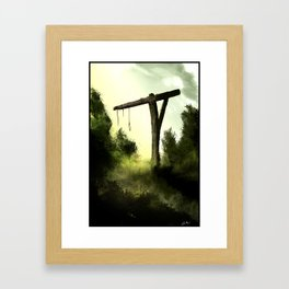 Gallows Framed Art Print