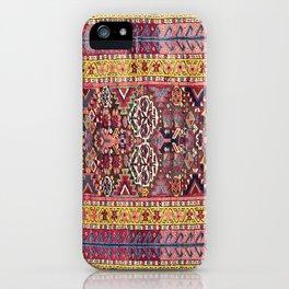 Kolyai Long Antique Persian Kurdish Rug iPhone Case