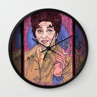 dot Wall Clocks featuring Dot by Easties Across the Pond