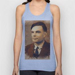 Alan Turing, Scientist Unisex Tank Top