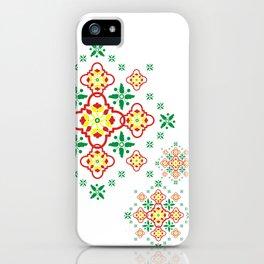 Batik Tjeplok Kantel iPhone Case