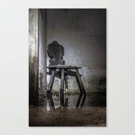 Gläser Sessel Canvas Print