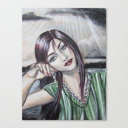 Tilt Canvas Print
