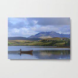 Loch Harport and the Cuillins 2 Metal Print