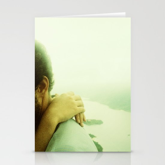 Embrace with a View Stationery Cards
