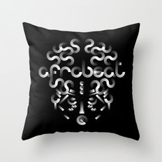 Afrobeat Mask Throw Pillow