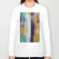 chakra Long Sleeve T-shirts featuring Aum Chakra  by Prema Designs