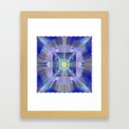 A Sense of Movement Meditation Portal Framed Art Print