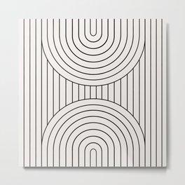 Arch Symmetry VI Metal Print