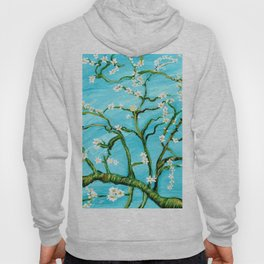 Almond Blossoms - Homage to Van Gogh Hoody