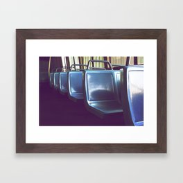 Transit Framed Art Print