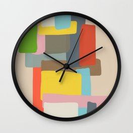 Abstract Kaoru Wall Clock