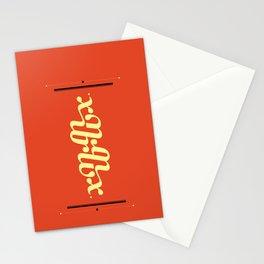 Type Foundry - Georgia Bold Italic Stationery Cards