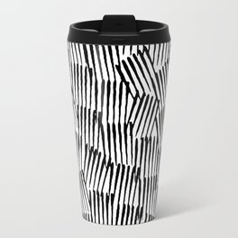 Crosshatched yourself Travel Mug