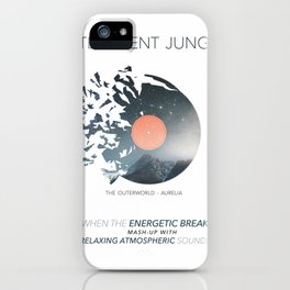 INTELLIGENT JUNGLE v3 iPhone Case