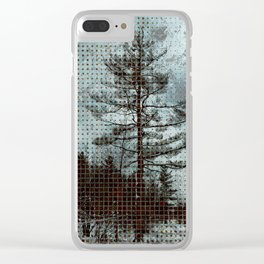 Old Pine Tree Clear iPhone Case