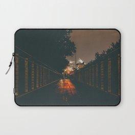 Renaissance Park bridge at night Laptop Sleeve