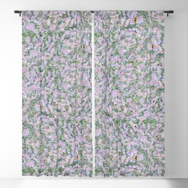 Bees Love Lavender Blackout Curtain