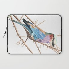 Lilac breasted roller Laptop Sleeve