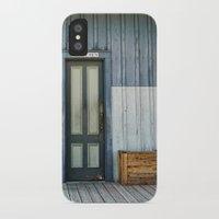 bathroom iPhone & iPod Cases featuring Bathroom Doors by Agrofilms