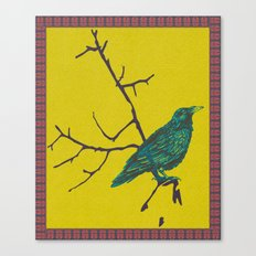 Crow 1 Canvas Print