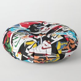 Jordan 1 Pattern Floor Pillow