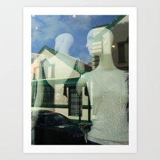 Mannequin Window Art Print