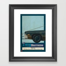 The Blues Brothers Bluesmobile 1/3 Framed Art Print