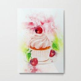 Cupcake Art Metal Print
