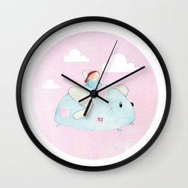 Beetle Bus Wall Clock