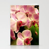 orchid Stationery Cards featuring orchid by Bitifoto