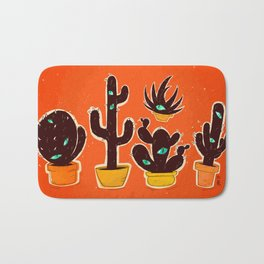 Cat//Cactus Bath Mat